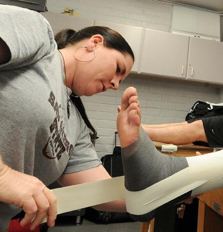 SDSU Trainer Allison Miner - Aztecs For Life - Hunter Hewitt