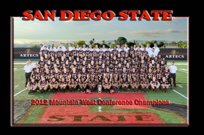Aztecs team photo