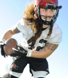 Middle linebacker Jake Fely will lead an experienced San Diego State defense in 2013. (Ernie Anderson)