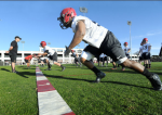 Following the annual Red and Black Game on Saturday, San Diego State capped off another productive spring football. (Ernie Anderson)