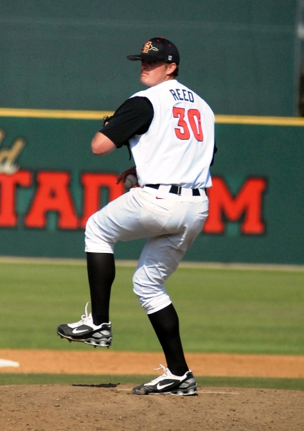 Former SDSU pitcher Addison Reed has had success with the Chicago White Sox. (San Diego Hall of Champions)