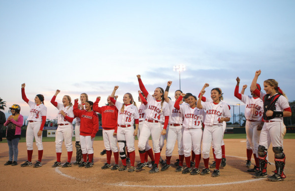 san diego state softball