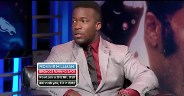 'Aztec For Life' Ronnie Hillman appeared on NFL Total Access on Monday