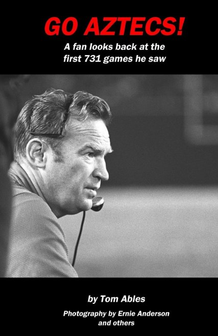 Tom Ables book, Go Aztecs!, is available for purchase on Amazon.com